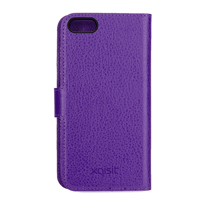 Xqisit - Slim Wallet Case iPhone SE / 5S / 5 Purple 03