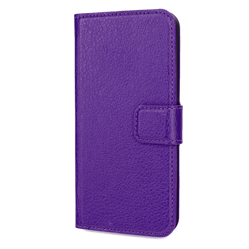 Xqisit - Slim Wallet Case iPhone SE / 5S / 5 Purple 04