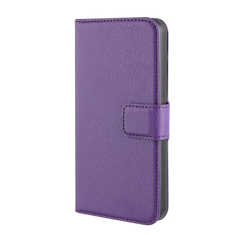 Xqisit - Slim Wallet Case iPhone SE / 5S / 5 Purple 05