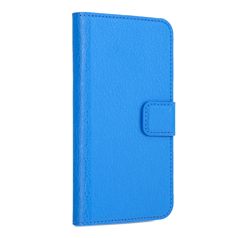Xqisit - Slim Wallet Case iPhone SE / 5S / 5 Blue 01