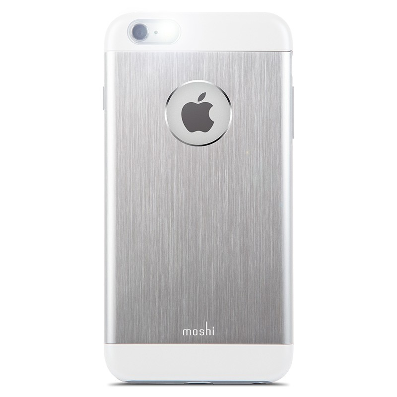 Moshi - iGlaze Armour iPhone 6 Plus / 6S Plus Silver 04