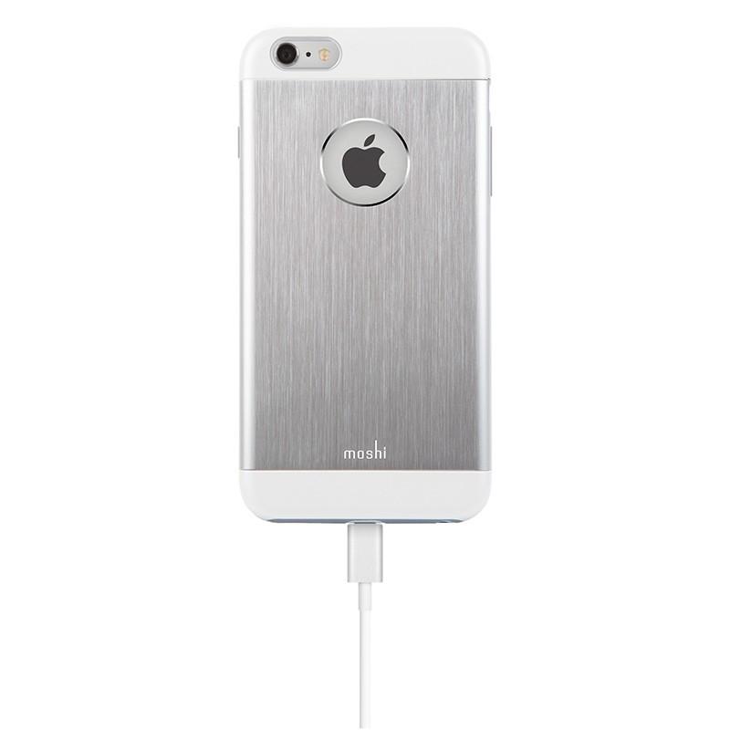 Moshi - iGlaze Armour iPhone 6 Plus / 6S Plus Silver 05