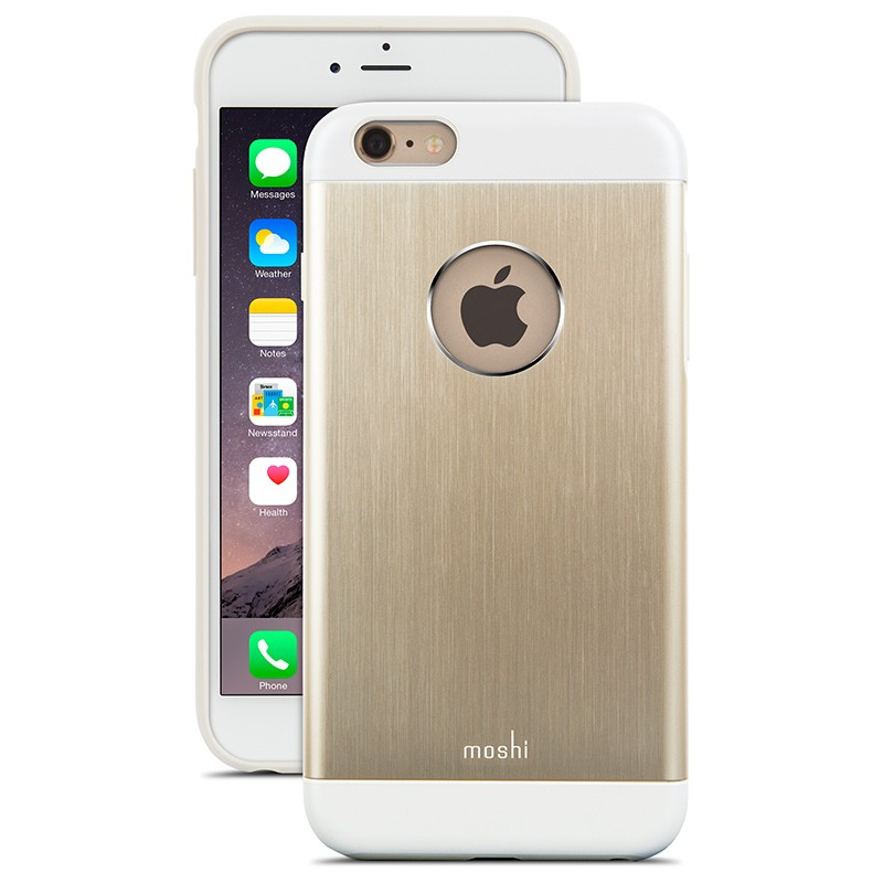 Moshi - iGlaze Armour iPhone 6 Plus / 6S Plus Gold 01