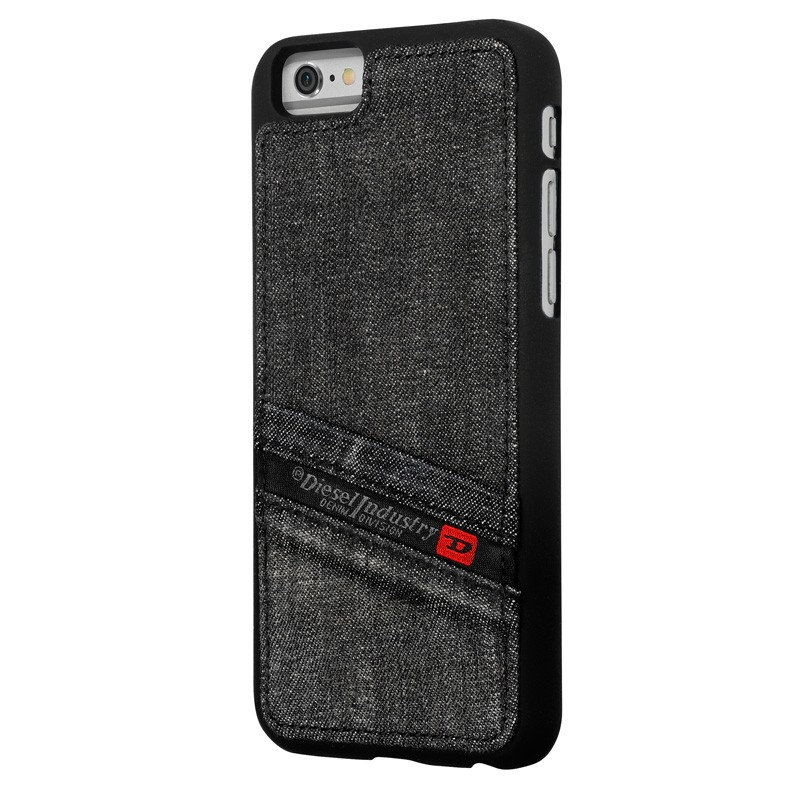 Diesel - Pluton Snap Case iPhone 6 / 6S Black 01