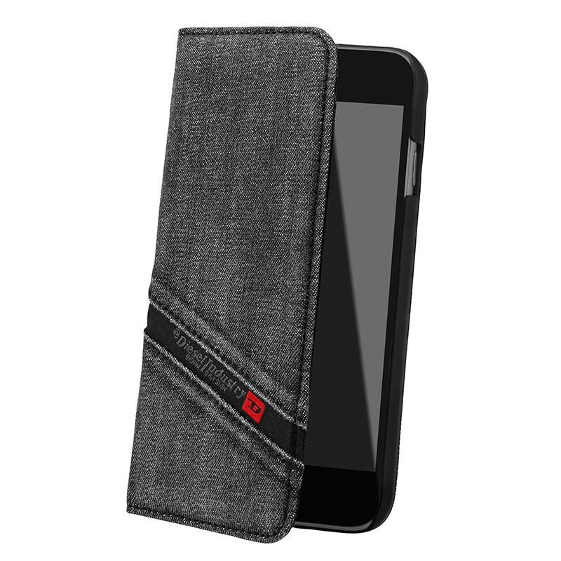 Diesel - Cosmo Book Case iPhone 6 Plus / 6S Plus Black 01