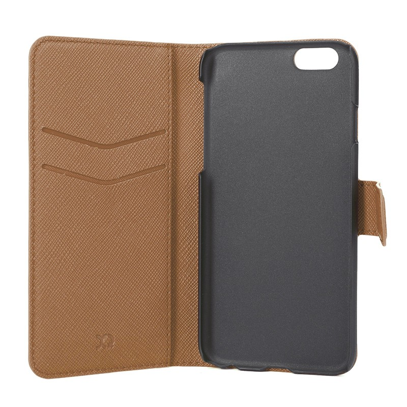 Xqisit - Wallet Case Viskan iPhone 6 / 6S Brown 06