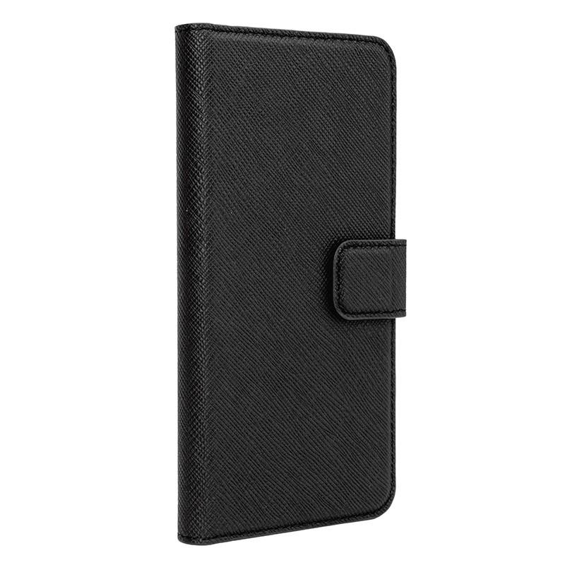 Xqisit - Wallet Case Viskan iPhone 6 / 6S Black 01
