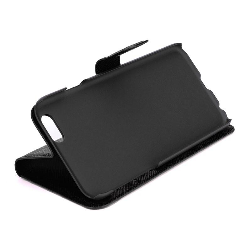 Xqisit - Wallet Case Viskan iPhone 6 / 6S Black 05
