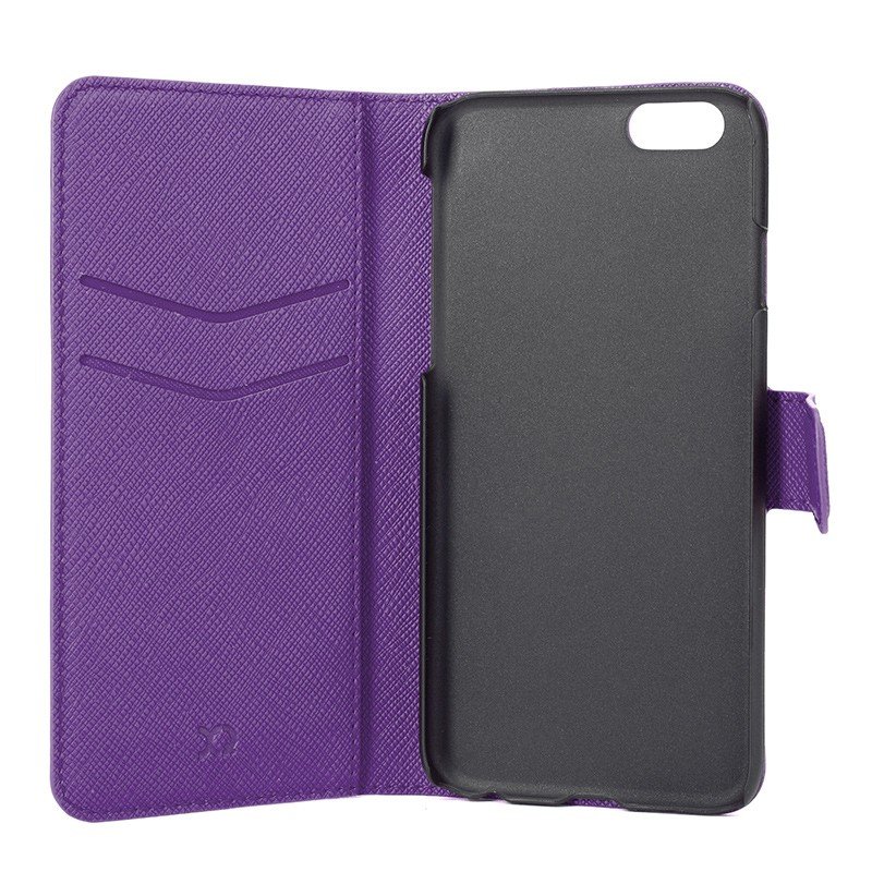 Xqisit - Wallet Case Viskan iPhone 6 / 6S Purple 05