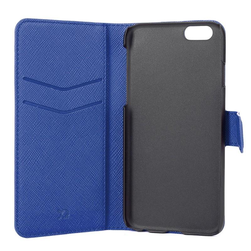 Xqisit - Wallet Case Viskan iPhone 6 / 6S Blue 06