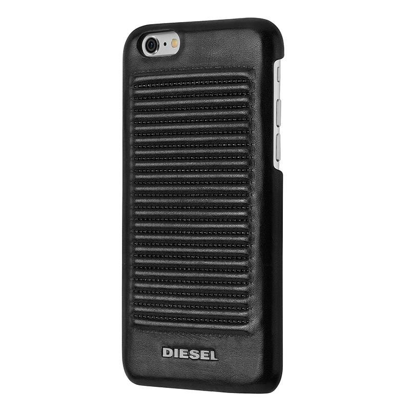 Diesel - Moulded Biker Case iPhone 6 / 6S Black 01