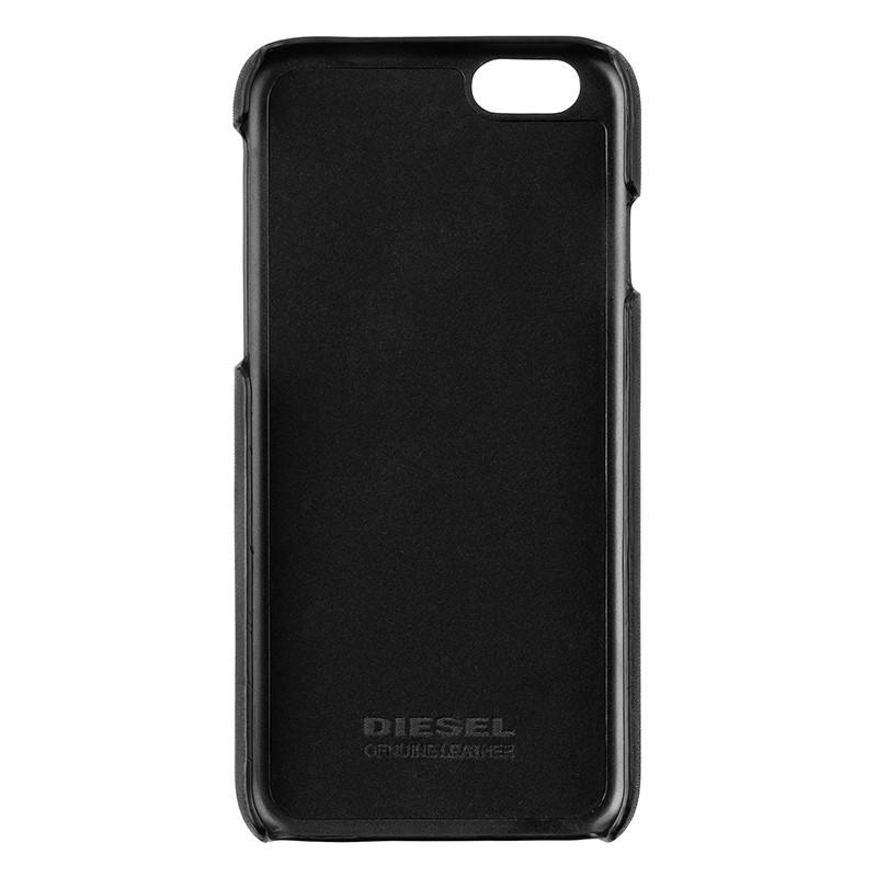 Diesel - Moulded Flip Case iPhone 6 / 6S V style Black 05