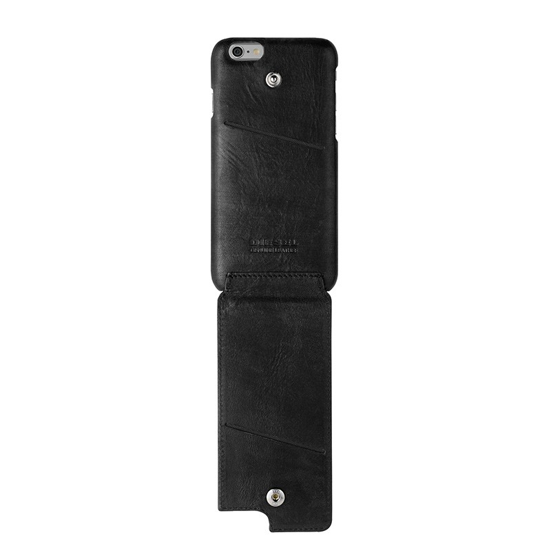Diesel - Moulded Flip Case iPhone 6 / 6S V style Black 04