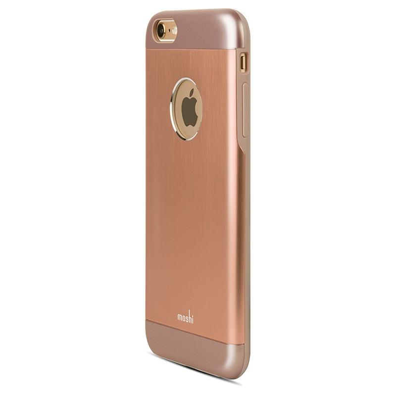 Moshi - iGlaze Armour iPhone 6 Plus / 6S Plus Copper Pink 02