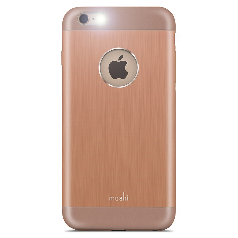 Moshi - iGlaze Armour iPhone 6 Plus / 6S Plus Copper Pink 05
