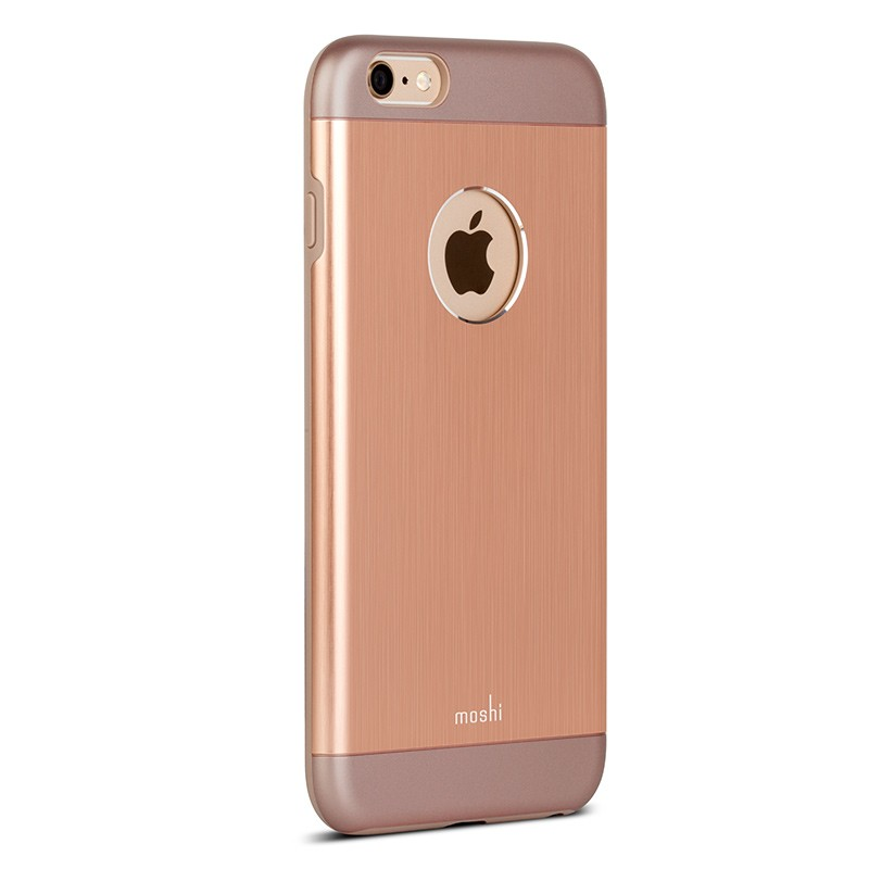 Moshi - iGlaze Armour iPhone 6 Plus / 6S Plus Copper Pink 06