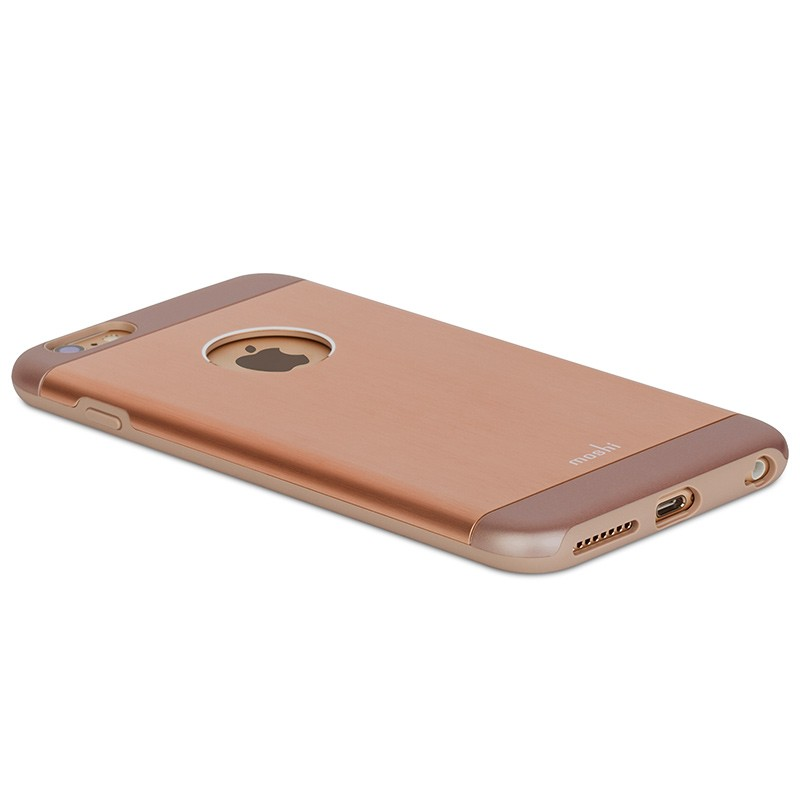 Moshi - iGlaze Armour iPhone 6 Plus / 6S Plus Copper Pink 07