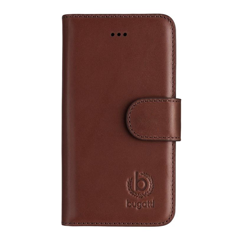 Bugatti - Book Case Milano iPhone SE/5S/5 Brown 01