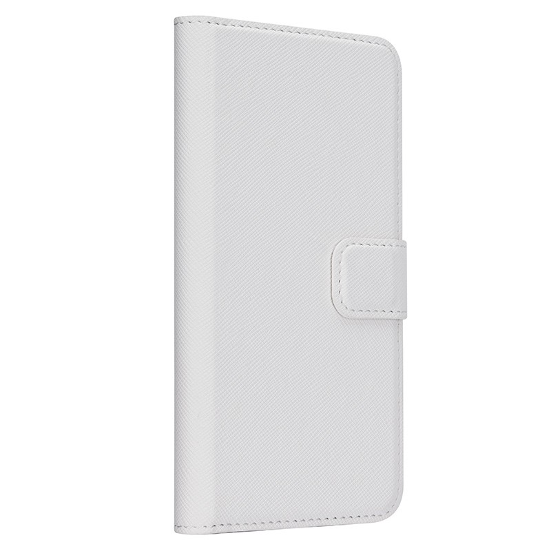 Xqisit - Wallet Case Viskan iPhone 6 / 6S White 01