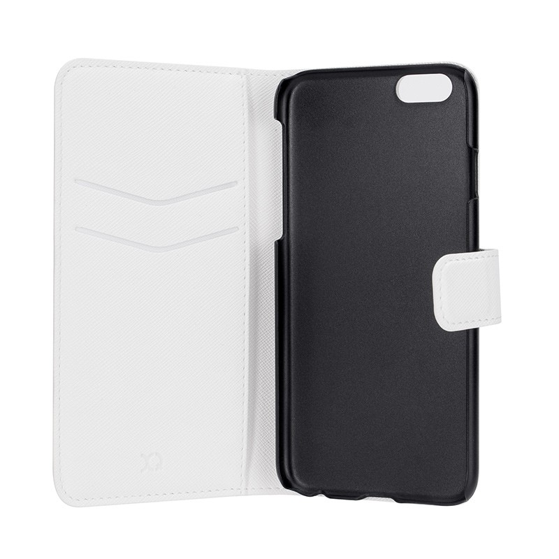 Xqisit - Wallet Case Viskan iPhone 6 / 6S White 05