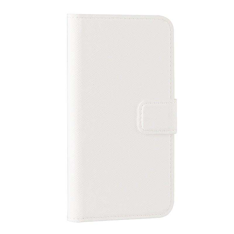 Xqisit - Wallet Case Viskan iPhone SE / 5S / 5 white 01