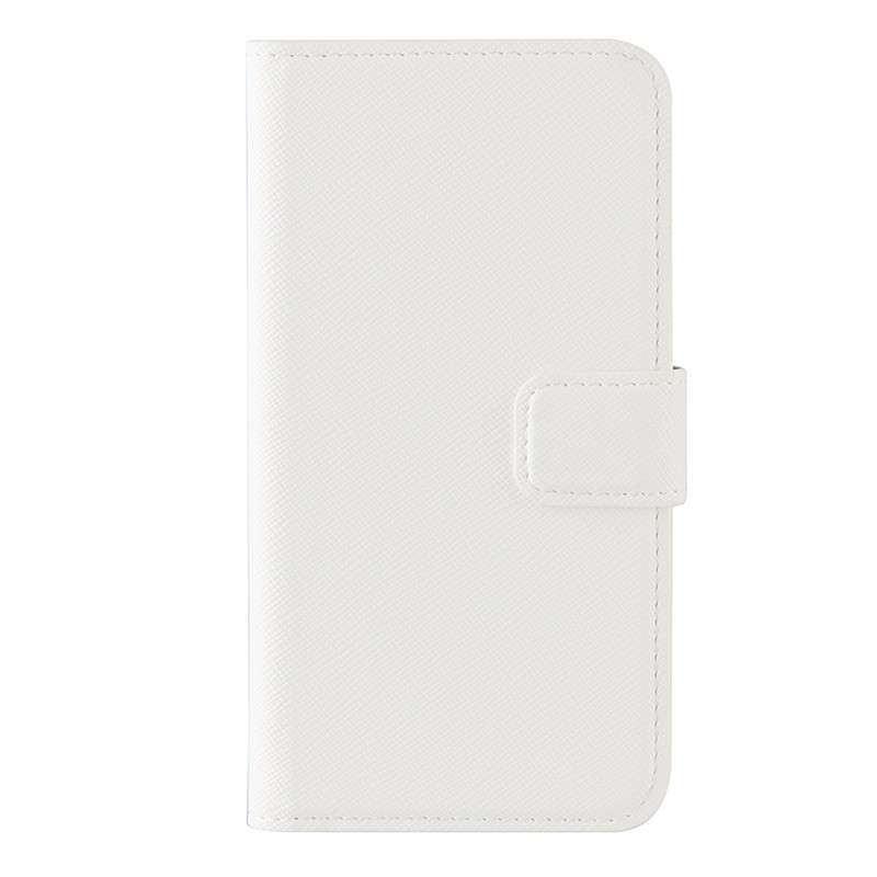 Xqisit - Wallet Case Viskan iPhone SE / 5S / 5 white 02