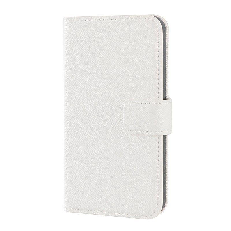 Xqisit - Wallet Case Viskan iPhone SE / 5S / 5 white 04