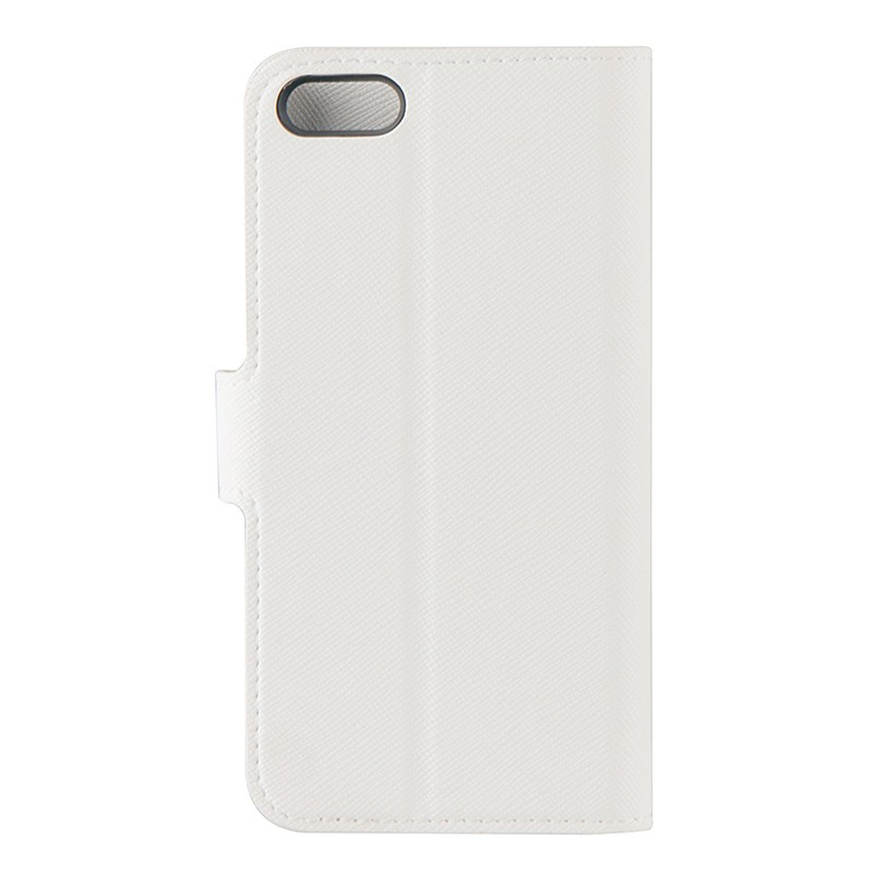 Xqisit - Wallet Case Viskan iPhone SE / 5S / 5 white 03
