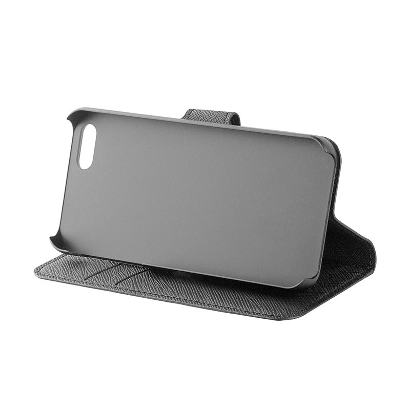 Xqisit - Wallet Case Viskan iPhone SE / 5S / 5 05