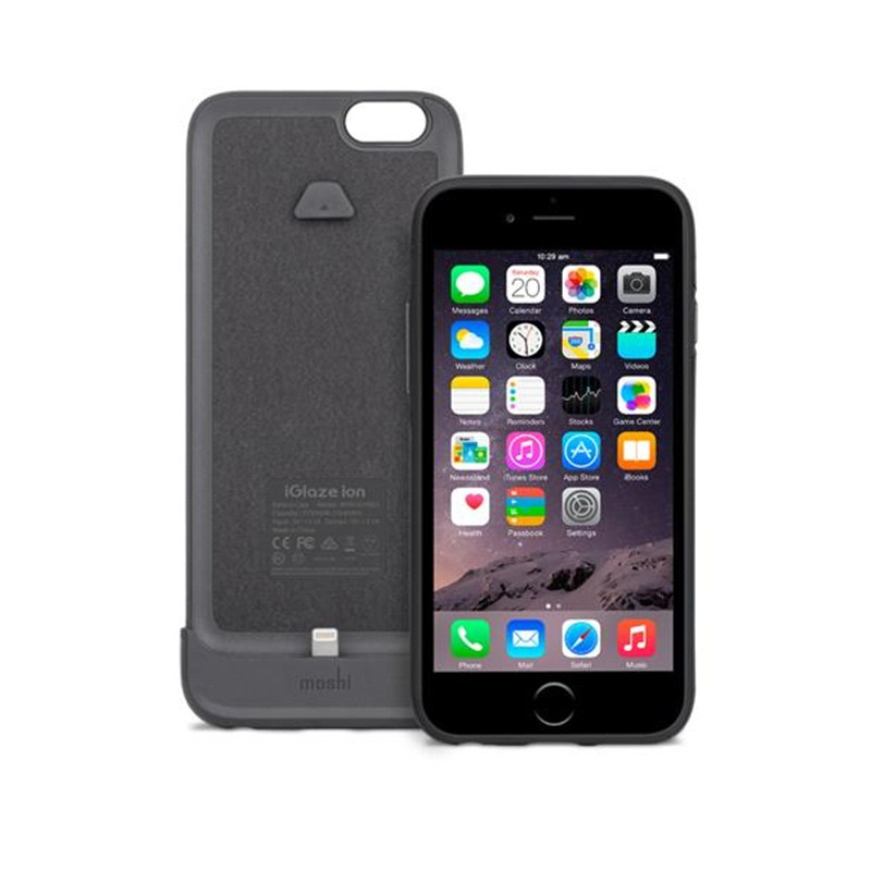 Moshi - iGlaze Ion Batterij Case iPhone 6 / 6S Black 02
