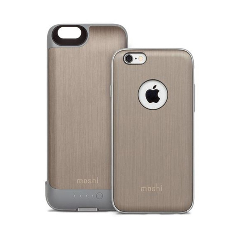 Moshi - iGlaze Ion Batterij Case iPhone 6 / 6S Brushed Titanium 05