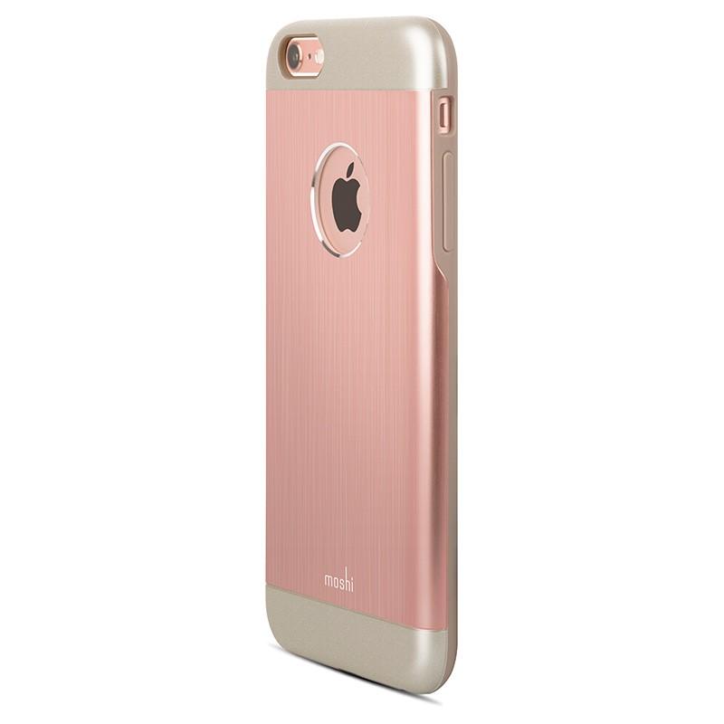 Moshi - iGlaze Armour iPhone 6 Plus / 6S Plus Rose Pink 04