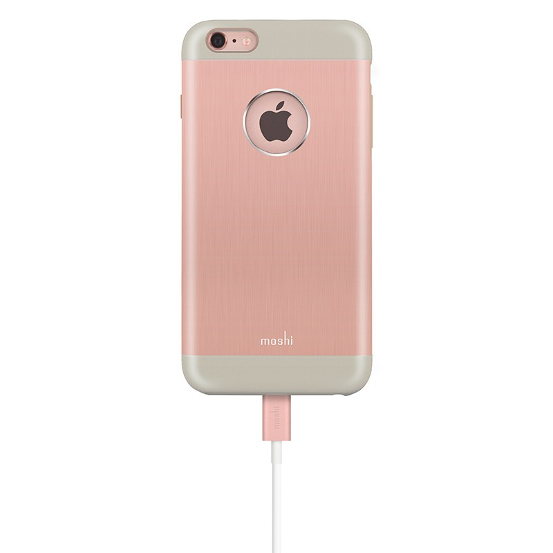 Moshi - iGlaze Armour iPhone 6 Plus / 6S Plus Rose Pink 06