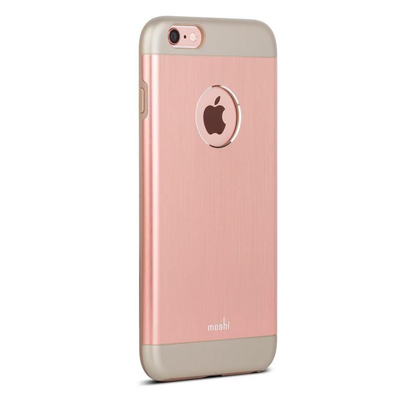 Moshi - iGlaze Armour iPhone 6 Plus / 6S Plus Rose Pink 08