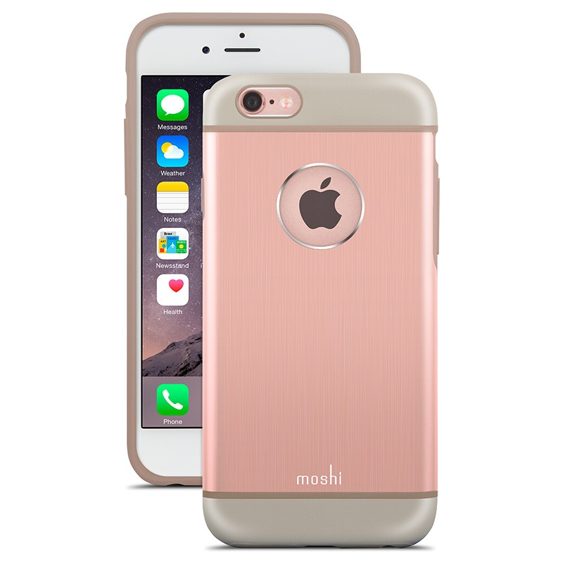 Moshi - iGlaze Armour iPhone 6 Plus / 6S Plus Rose Pink 01