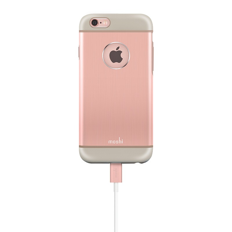 Moshi - iGlaze Armour iPhone 6 / 6S Rose Pink 06