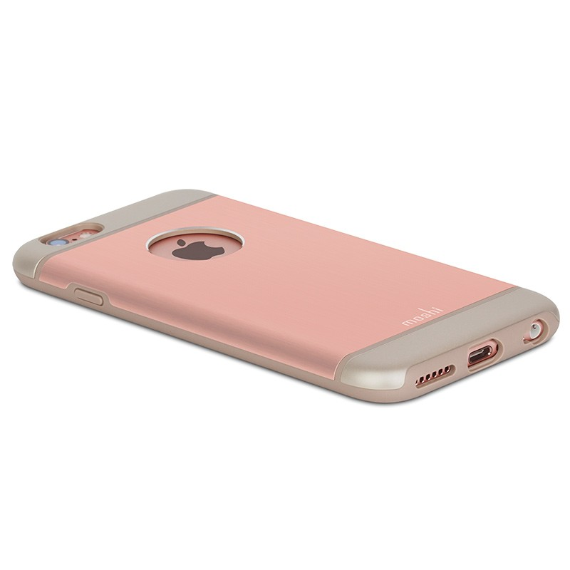 Moshi - iGlaze Armour iPhone 6 / 6S Rose Pink 09