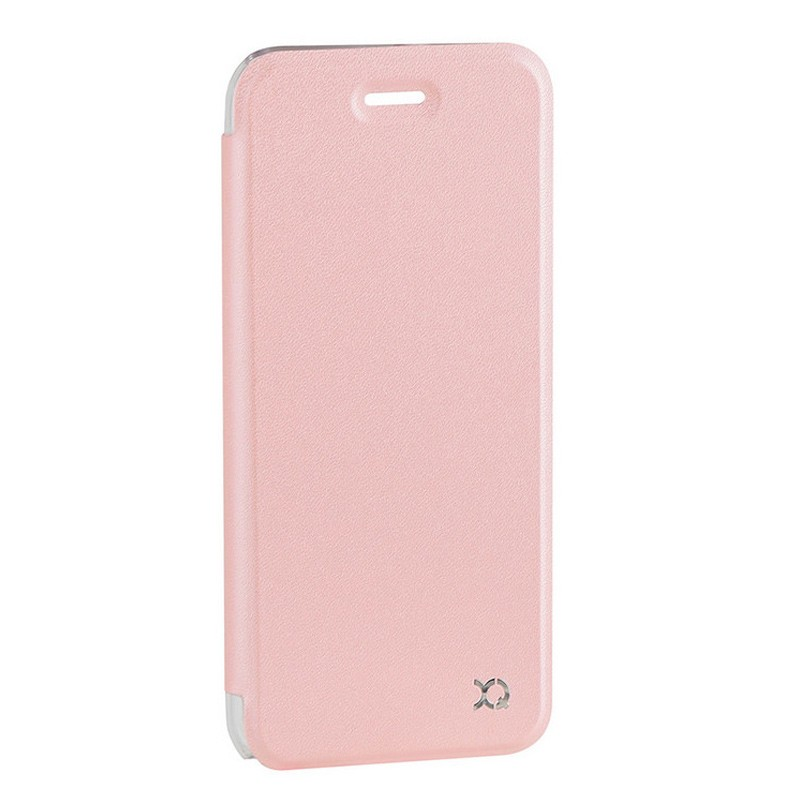 Xqisit Flap Cover Adour iPhone 7 hoes RoseGold 02