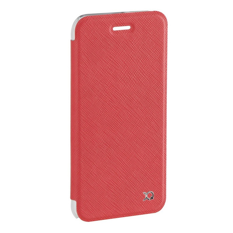 Xqisit Flap Cover Adour iPhone 7 hoes Red 02