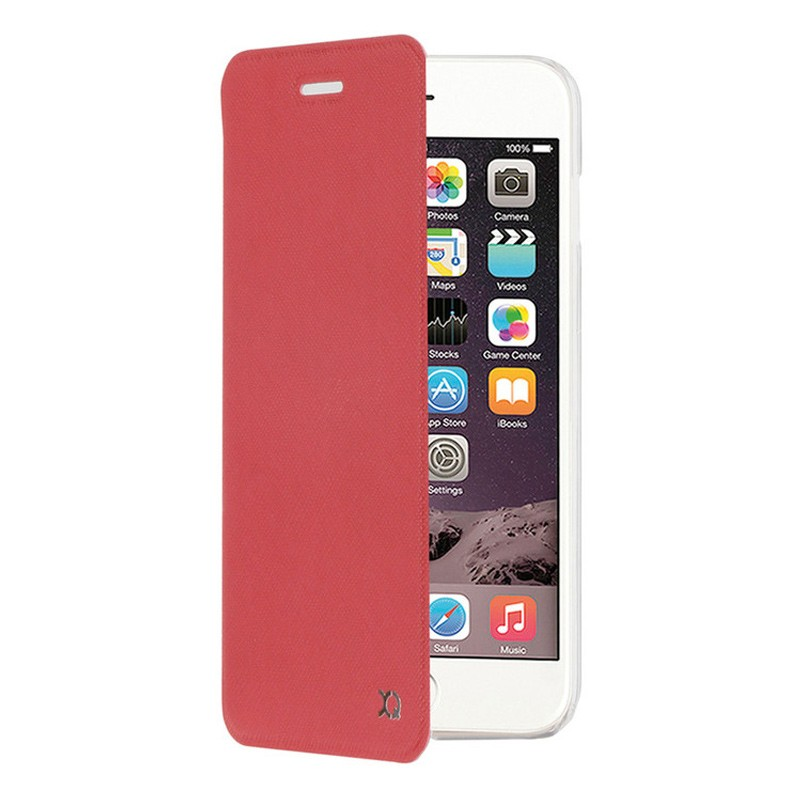 Xqisit Flap Cover Adour iPhone 7 hoes Red 01