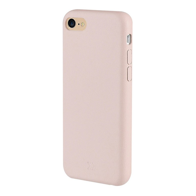 Xqisit iPlate Gimone iPhone 7 hoes beige 01