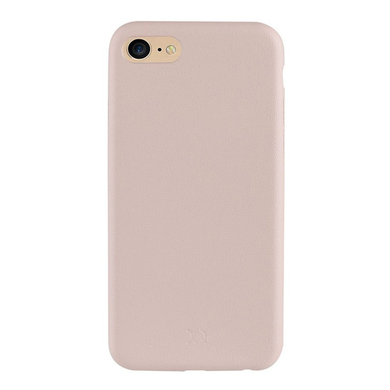 Xqisit iPlate Gimone iPhone 7 hoes beige 02