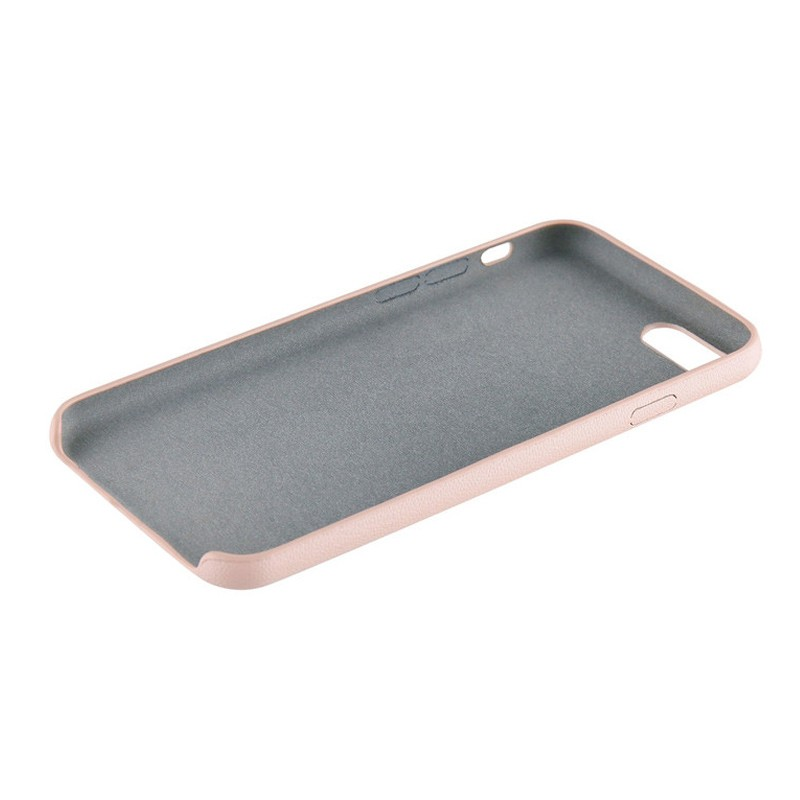 Xqisit iPlate Gimone iPhone 7 hoes beige 04