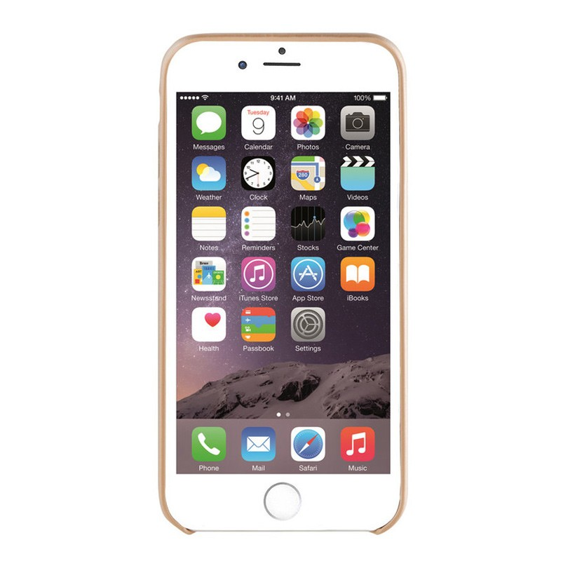 Xqisit iPlate Gimone iPhone 7 hoes goud  03