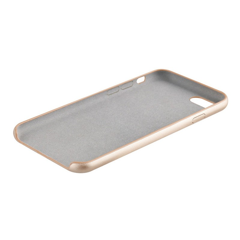 Xqisit iPlate Gimone iPhone 7 hoes goud  04