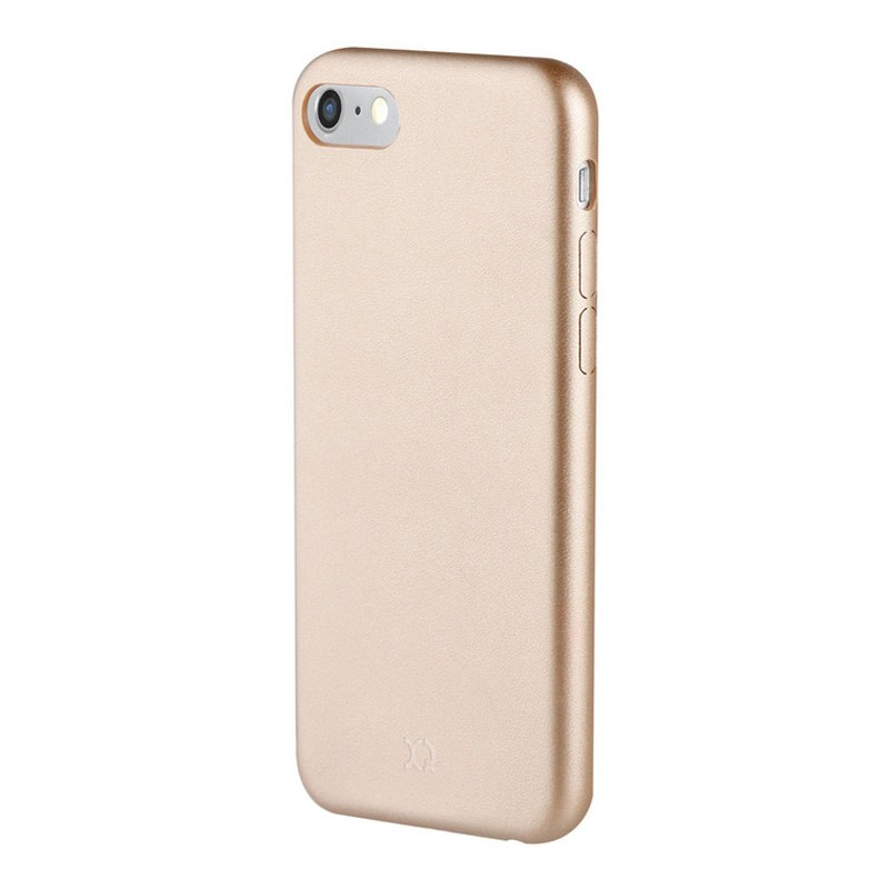 Xqisit iPlate Gimone iPhone 7 Plus hoes Gold 01