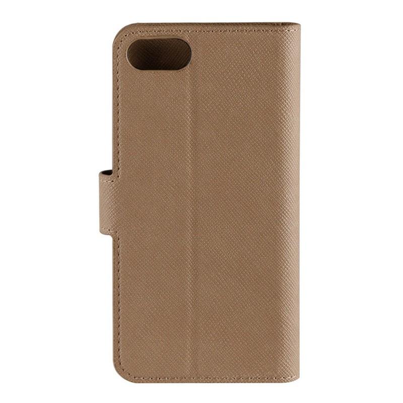 Xqisit Wallet Case Viskan iPhone 7 camel 04