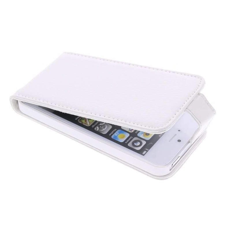 Adapt Leather Flip Case iPhone 5/5S White