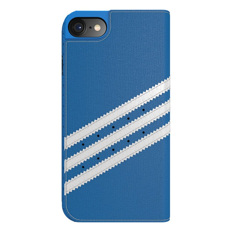 Adidas Originals Booklet Case iPhone 7 Bluebird/White - 2