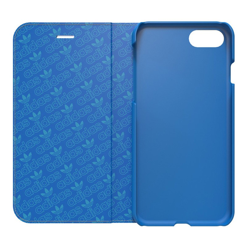 Adidas Originals Booklet Case iPhone 7 Bluebird/White - 3